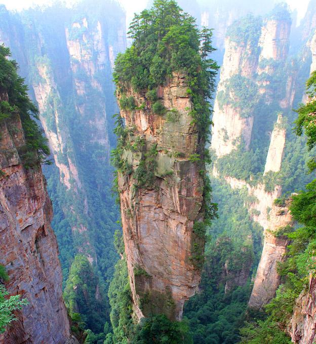Montanhas Tianzi, China
