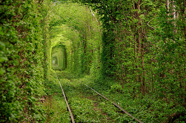 Túnel do amor, Ucrânia